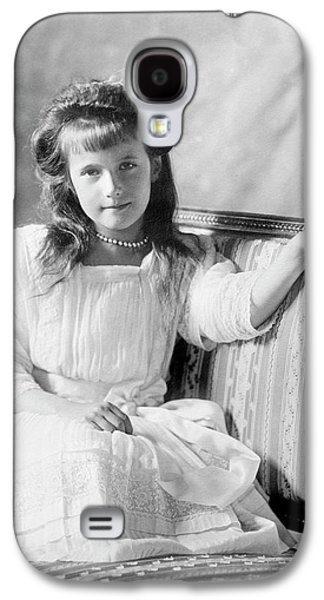 Grand Duchess Anastasia Of Russia Galaxy S4 Case by Library Of Congress