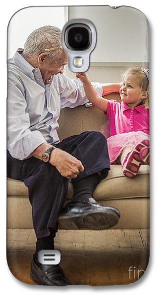 Grandpa's Little Princess Galaxy S4 Case by Diane Diederich