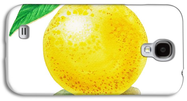 Grapefruit Galaxy S4 Case by Irina Sztukowski