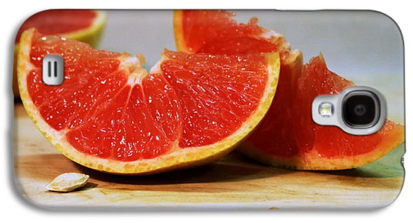 Grapefruit Slices Galaxy S4 Case by Joseph Skompski