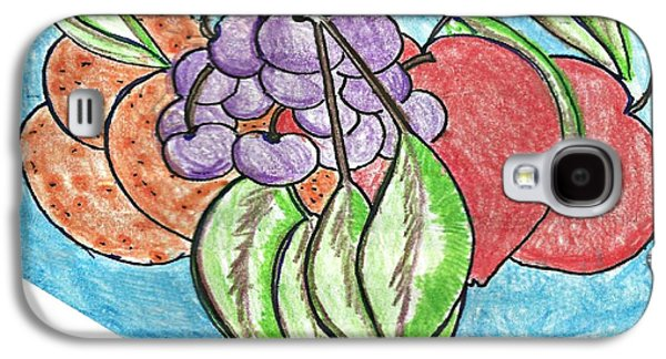 Grapes Galaxy S4 Case by Becky Sterling