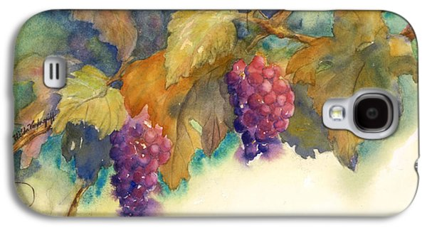 Grapes Galaxy S4 Case by Hilda Vandergriff