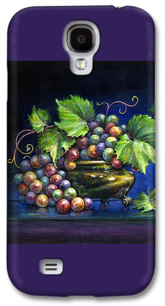 Grapes In A Footed Bowl Galaxy S4 Case