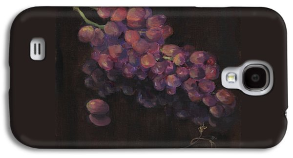 Grapes In Reflection Galaxy S4 Case by Maria Hunt