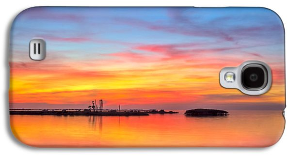 Grass Islands Of The Gulf Galaxy S4 Case by Marvin Spates