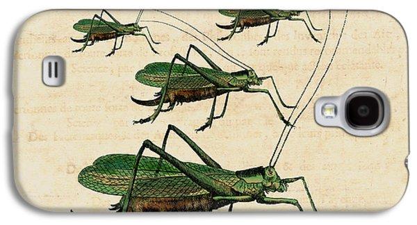 Grasshopper Parade Galaxy S4 Case