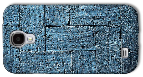 Gray Blue Burnt Bricks Pavement Galaxy S4 Case