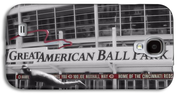 Great American Ball Park And The Cincinnati Reds Galaxy S4 Case