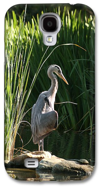 Great Blue Heron Galaxy S4 Case by Ellen Henneke