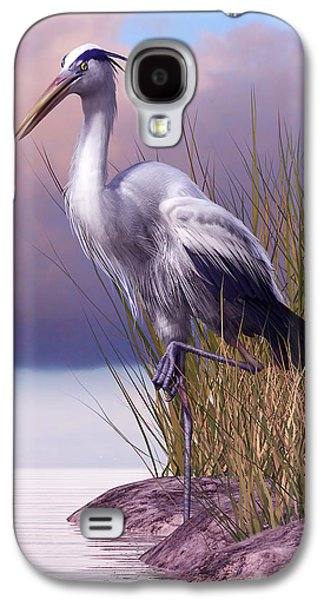 Great Blue Heron Galaxy S4 Case by Gary Hanna