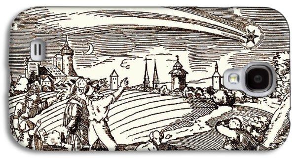 Great Comet Of 1577 Galaxy S4 Case by Detlev Van Ravenswaay