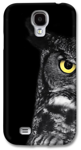 Great Horned Owl Photo Galaxy S4 Case
