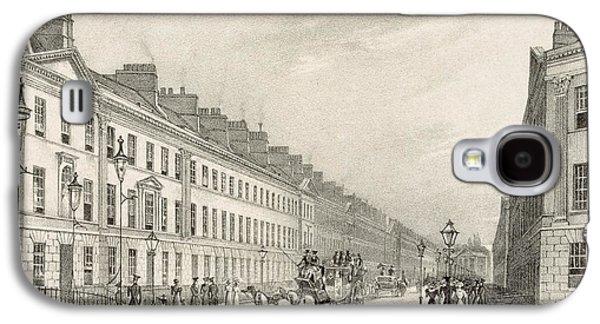 Great Pultney Street, Bath, C.1883 Galaxy S4 Case by R. Woodroffe