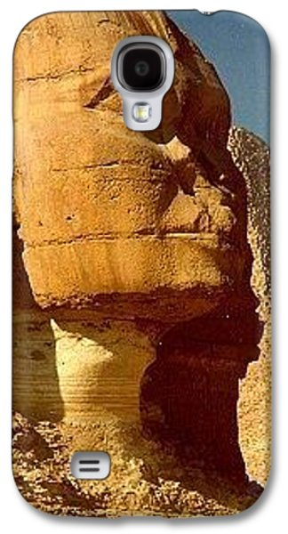 Galaxy S4 Case featuring the photograph Great Sphinx Of Giza by Travel Pics