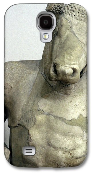 Minotaur Galaxy S4 Case - Greece, Athens Classical Era Marble by Jaynes Gallery