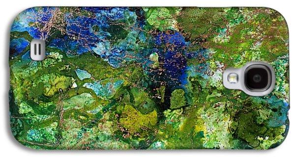Green Algae Galaxy S4 Case by Joanne Smoley