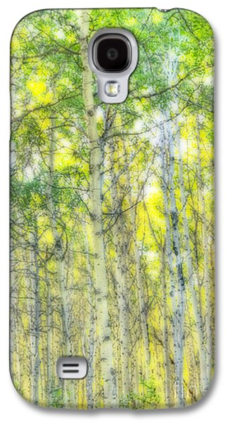 Green And Yellow Galaxy S4 Case