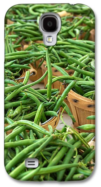 Green Beans In Baskets At Farmers Market Galaxy S4 Case