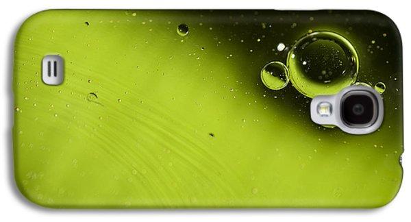 Green Bubble Galaxy S4 Case by Samuel Whitton
