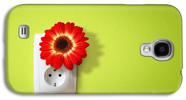 Green Electricity Galaxy S4 Case by Carlos Caetano