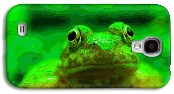 Green Frog Poster Galaxy S4 Case