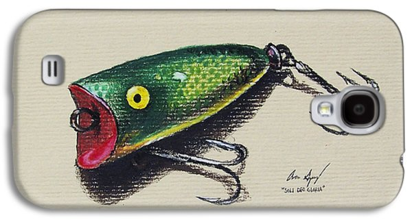 Green Lure Galaxy S4 Case by Aaron Spong