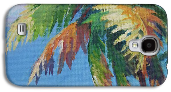 Green Palm  Galaxy S4 Case