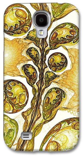 Green Plant Galaxy S4 Case by Anastasiya Malakhova