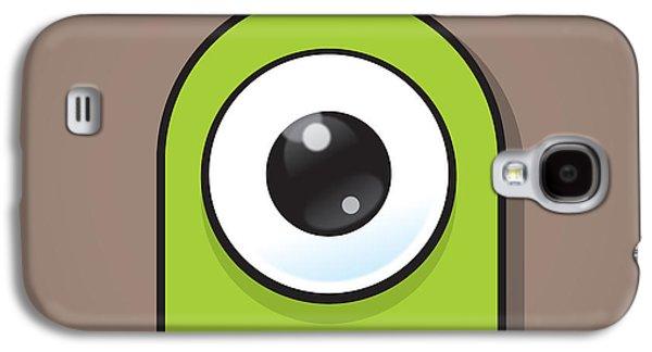 Green Galaxy S4 Case by Samuel Whitton
