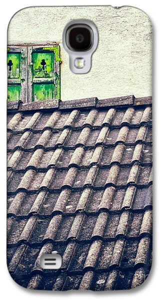 Green Shutters Galaxy S4 Case by Silvia Ganora