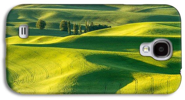 Green Velvet Galaxy S4 Case by Patricia Davidson