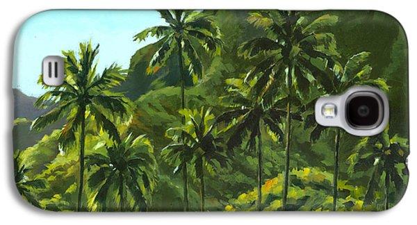 Greens Of Kahana Galaxy S4 Case by Douglas Simonson