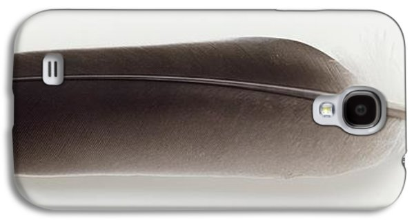 Grey Feather Galaxy S4 Case by Dorling Kindersley/uig