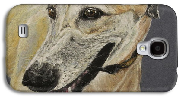 Greyhound Galaxy S4 Case by Jeanne Fischer