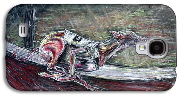 Greyhound Number Three Galaxy S4 Case by Tom Conway