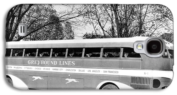 Greyhound X-1 Super Coach Bus Galaxy S4 Case by Underwood Archives