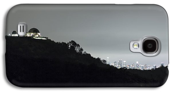 Griffith Park Observatory And Los Angeles Skyline At Night Galaxy S4 Case