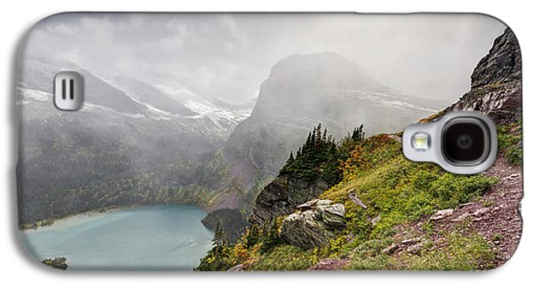 Grinnell Glacier Trail Galaxy S4 Case by Mark Kiver