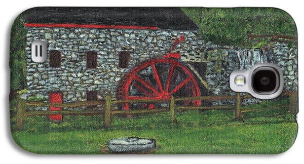 Grist Mill At Wayside Inn Galaxy S4 Case by Cliff Wilson