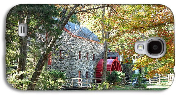 Grist Mill In Fall Galaxy S4 Case by Barbara McDevitt