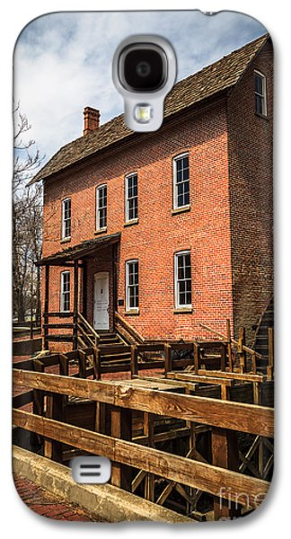Grist Mill In Hobart Indiana Galaxy S4 Case by Paul Velgos