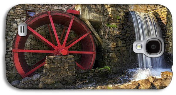 Grist Mill Waterfall Galaxy S4 Case by Mark Papke