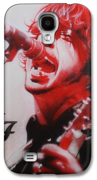 Dave Grohl - ' Grohl II ' Galaxy S4 Case by Christian Chapman