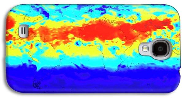 Ground Level Uv Exposure Galaxy S4 Case by Nasa/goddard Space Flight Center Scientific Visualization Studio