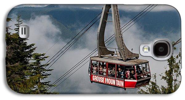 Grouse Mountain Skyride Galaxy S4 Case by James Wheeler