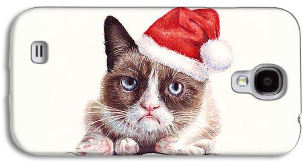 Grumpy Cat As Santa Galaxy S4 Case