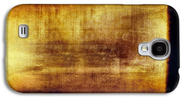 Grunge Filmstrip Galaxy S4 Case by Les Cunliffe