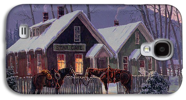 Guest For Dinner Galaxy S4 Case by Randy Follis
