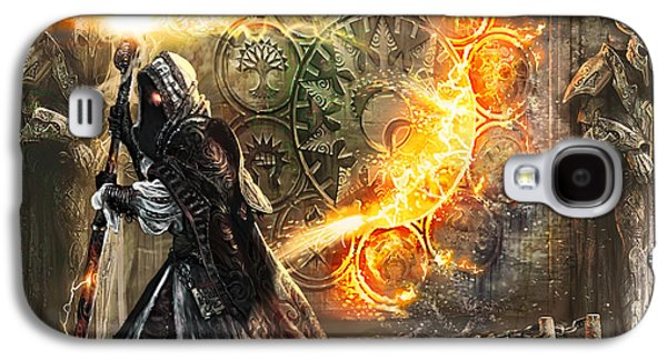 Wizard Galaxy S4 Case - Guildscorn Ward by Ryan Barger