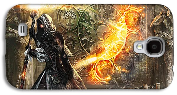 Magician Galaxy S4 Case - Guildscorn Ward by Ryan Barger
